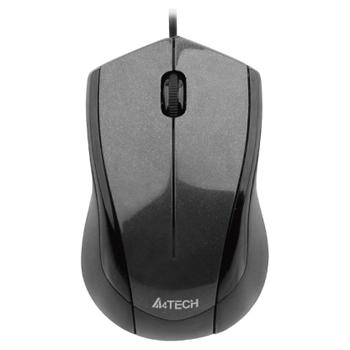 Миша A4Tech N-400-1 Grey, USB V-Track - зображення 1