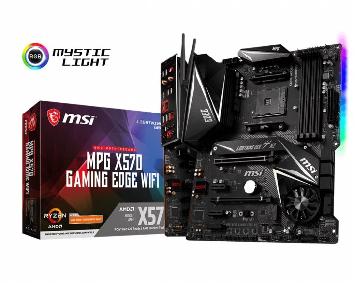 Материнская плата MSI MPG X570 Gaming Edge WIFI Socket AM4 - изображение 1