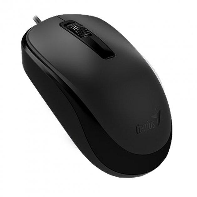 Мышь Genius DX-125 Black (31010106100) USB - изображение 1