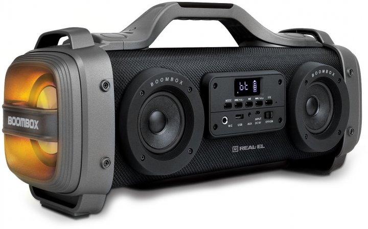 Акустична система Real-El X-770 Black (EL121600004) - зображення 1