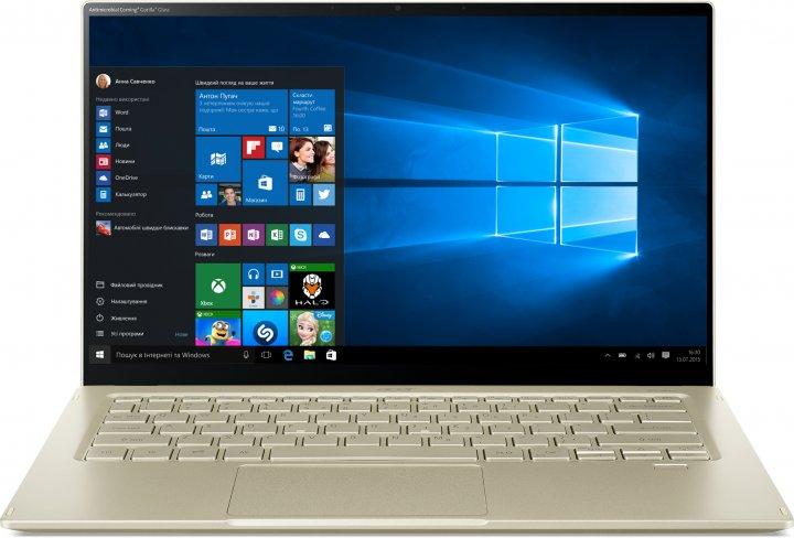 Ноутбук Acer Swift 5 SF514-55T-78FN (NX.A35EU.00E) Safari Gold - изображение 1