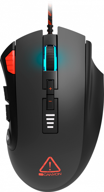 Мышь Canyon Merkava GM-15 USB Corded Black (CND-SGM15) - изображение 1