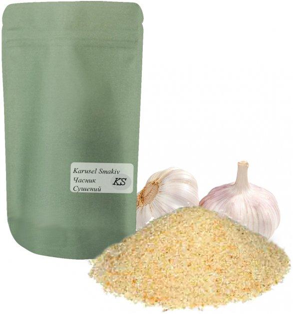 Чеснок Карусель вкусов сушеный гранулированный 300 г (2220100331009) - изображение 1