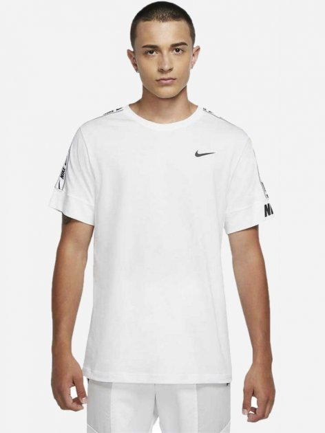 Футболка Nike M Nsw Repeat Tee Ss CZ7829-100 M (194498114087) - изображение 1