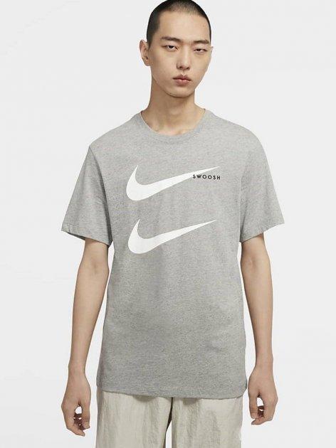 Футболка Nike M Nsw Ss Tee Swoosh Pk 2 CU7278-063 S (194494742000) - зображення 1