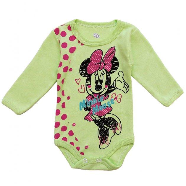 Боди Minnie Mouse Destino для девочки 62 см Салатовый 8327 - изображение 1