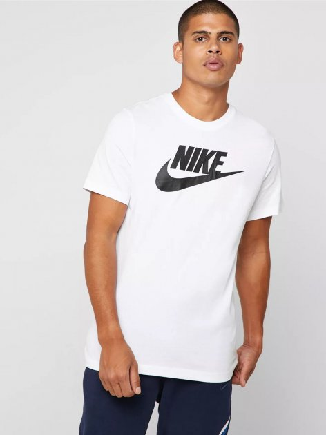 Футболка Nike M Nsw Tee Icon Futura AR5004-101 2XL (191888622009) - изображение 1