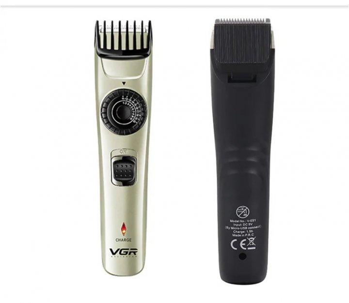 Машинка для стрижки волосся VGR V-031 - зображення 1