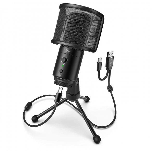 Мікрофон Fifine K683A USB/USB C - зображення 1