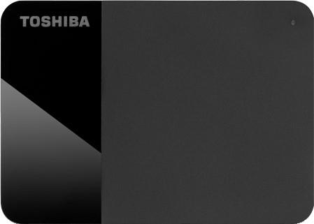 """Жорсткий диск Toshiba Hard Drive Canvio Ready 2 TB HDTP320EK3AA 2.5"""" USB 3.2 Gen 1 External Black - зображення 1"""