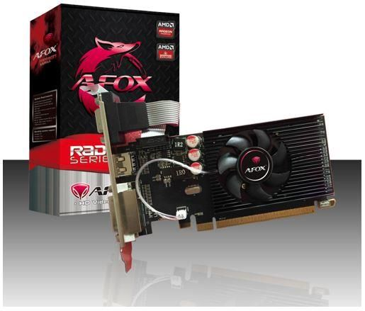 AFOX Radeon R5 230 2GB DDR3 64 Bit DVI-HDMI-VGA Low profile - изображение 1