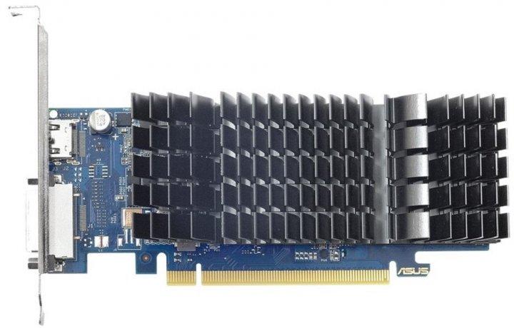 Видеокарта ASUS GeForce GT1030 2GB DDR5 low profile silent - изображение 1