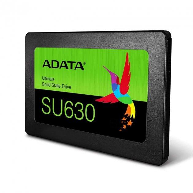 """Твердотільний накопичувач SSD ADATA SATA 2.5"""" 480GB SU630 3D QLC - зображення 1"""