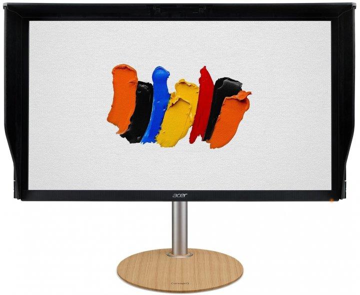 "Монитор LCD 27"" Acer ConceptD CP5271UVbmiipruzx, 2xHDMI, DP, USB-B, USBHub, MM, IPS, Pivot, 2560x1440, 170Hz, 1ms,Free-sync - изображение 1"