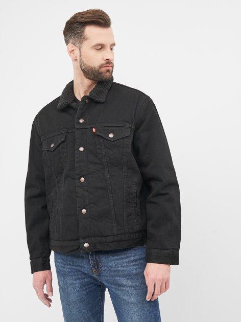 Джинсова куртка Levi's Type 3 Sherpa Trucker Berk 16365-0100 L (5400816074397) - зображення 1