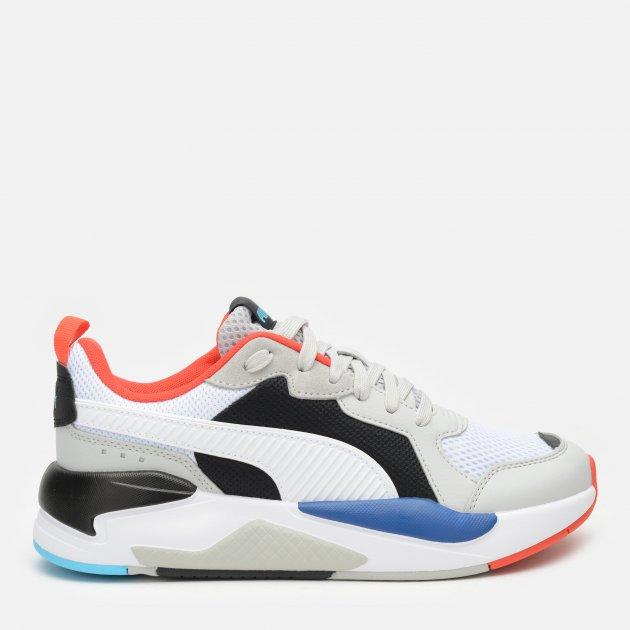 Кроссовки Puma X-Ray 37260228 35.5 (3) 22 см Gray Violet-Puma White-Puma Black-Poppy Red-Blue Atoll (4063697737754) - изображение 1