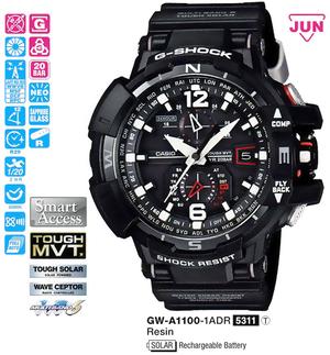 Годинник CASIO GW-A1100-1AER - зображення 1