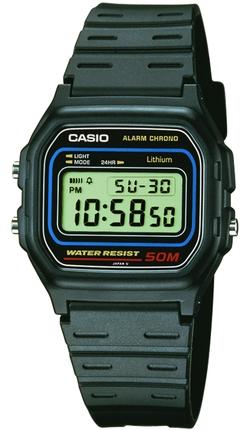Часы CASIO W-59-1VU - изображение 1