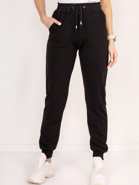 Спортивні штани DEMMA 5804 50 Чорні (4821000046333_Dem2000000013527) - зображення 1