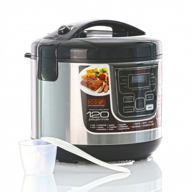 Мультиварка пароварка йогуртница хлебопечка Banoo 6 литров медленноварка 1500 Вт. Лучшая домашняя мощная помощница на кухне BN7001S - зображення 1