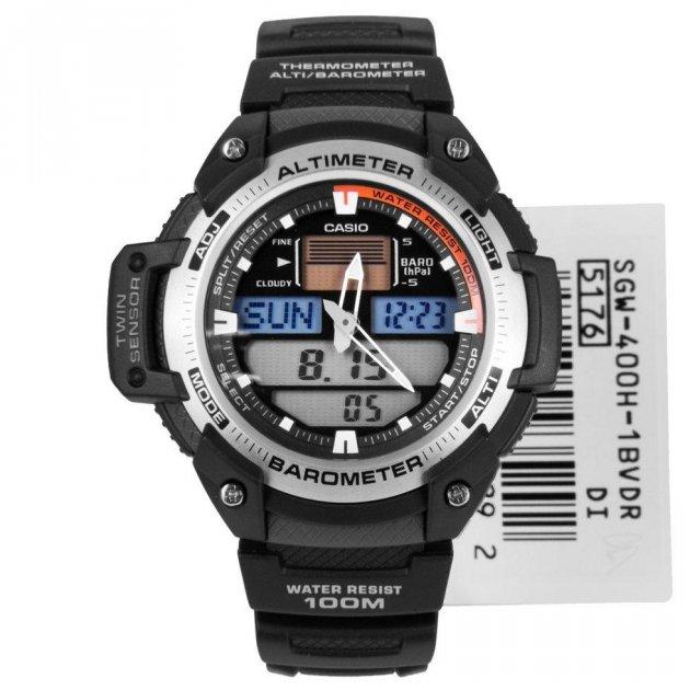 Годинник Casio SGW-400H-1B - зображення 1