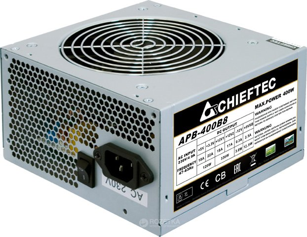 Chieftec Value APB-400B8 400W Bulk - изображение 1