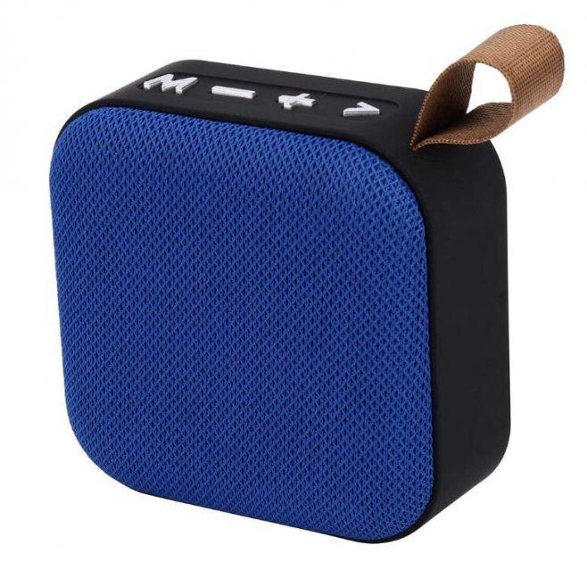 Портативна Bluetooth колонка T5, синя - зображення 1