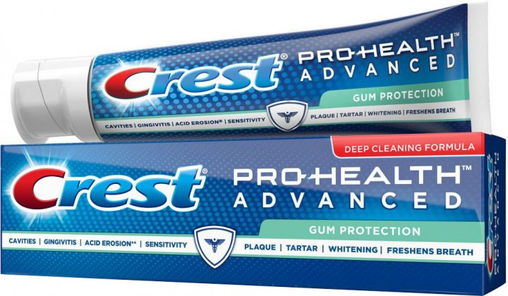 Зміцнююча зубна паста Crest Pro-Health Advanced Gum Protection DCF 144 г (37000976592) - зображення 1