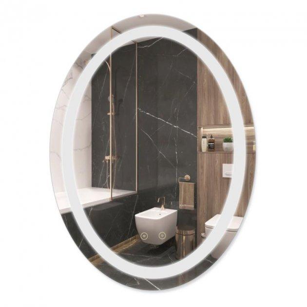 Зеркало Qtap Mideya с антизапотеванием 590х790 QT2078B8051W (SD00042601) - изображение 1