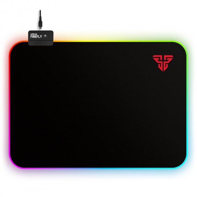 Игровая поверхность Fantech Firefly MPR351s RGB Black (MPR351sb) - изображение 1