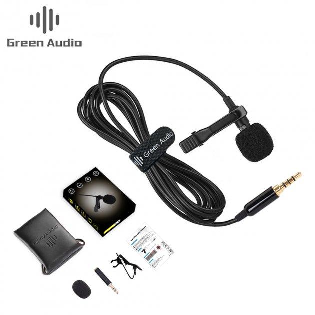 Петличный микрофон Green Audio GAM-141S для ПК/Смартфона/Камеры/Ноутбука - изображение 1