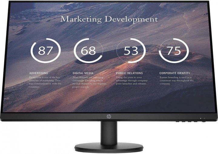 Монітор HP P27v G4 FHD Monitor (9TT20AA) - зображення 1