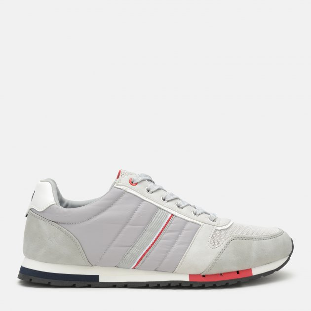 Кроссовки XTI Grey Nylon Combined Men Shoes 48718 42 26 см Серые (8434739241939) - изображение 1