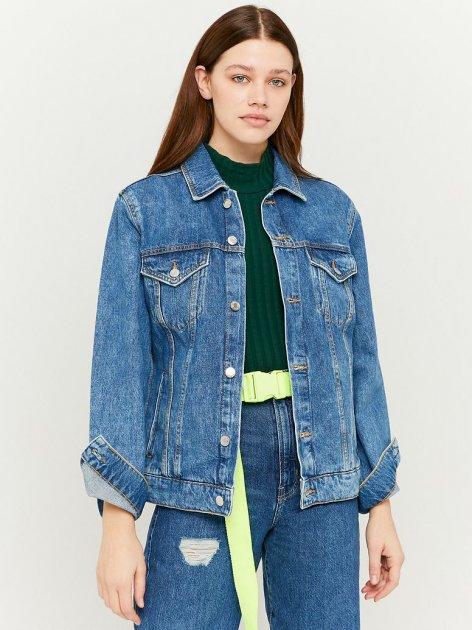 Куртка джинсовая Tally Weijl SJADESIVEL-EHMD M (7612959142361) - изображение 1