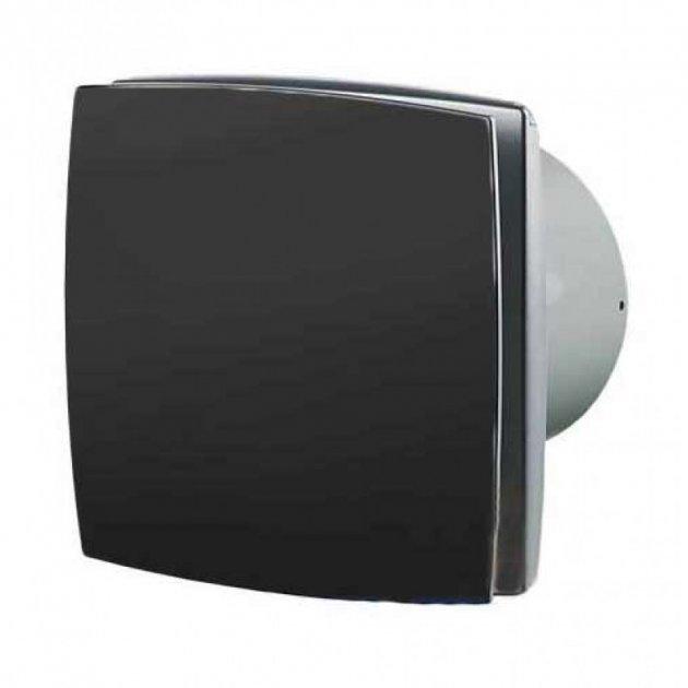 Вентилятор побутовий витяжний Vents 100 ЛД чорний - изображение 1