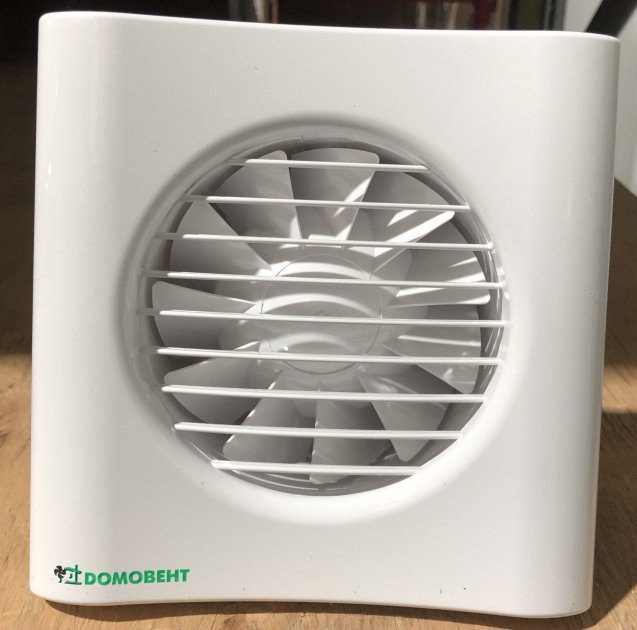 Витяжний вентилятор Домовент 100 Тиша Л - изображение 1