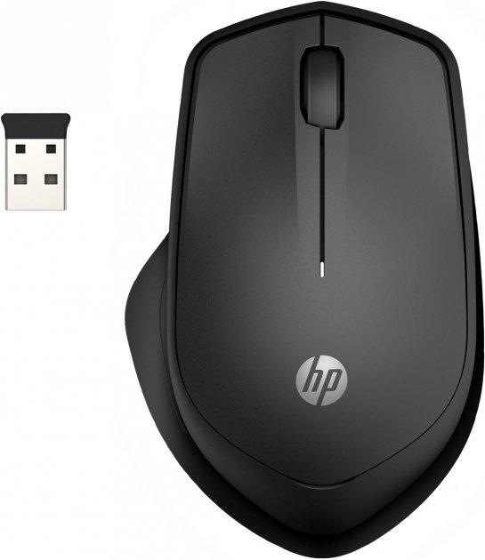 Мишка HP 280 Silent Wireless Black (19U64AA) - зображення 1