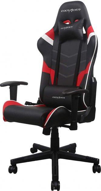 Кресло DXRacer P Series PU кожа, нейлоновое основание Черно-красное (GC-P188-NRW-C2-01-NVF) - изображение 1
