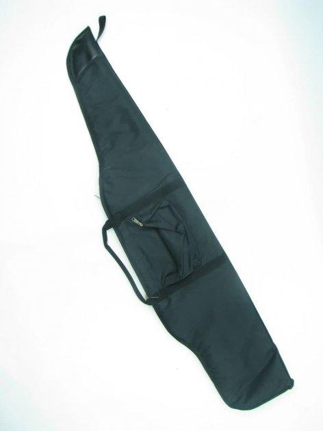 Чохол для гвинтівки з оптикою довжиною до 125 см чорний - зображення 1