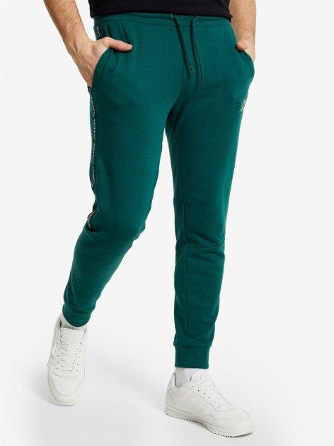 Спортивные штаны Kappa 107941-74 46 Темно-зеленые (4670036624943) - изображение 1