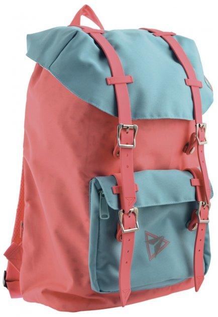 Рюкзак молодежный Yes T-59 Scarlet 0.5 кг 28х41х14 см 16 л (557234) - изображение 1
