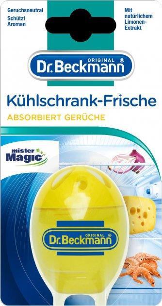 Поглотитель запаха для холодильника Dr. Beckmann Лимон 40 г (4008455048314) - изображение 1