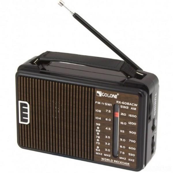 Радіоприймач GOLON RX-608 - зображення 1