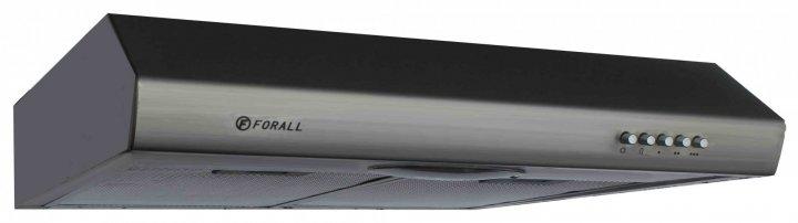 Кухонная плоская вытяжка FORALL SHF 0150SS Нержавеющая сталь - изображение 1