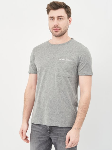 Футболка Calvin Klein Jeans 10490.3 S (44) Серая - изображение 1