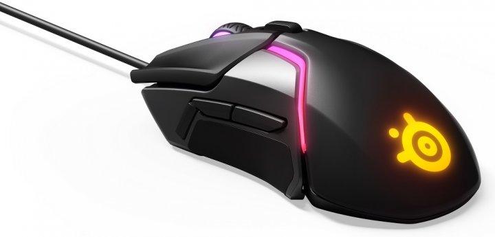Провідна ігрова миша з підсвіткою SteelSeries Rival 600 Black (62446) - изображение 1