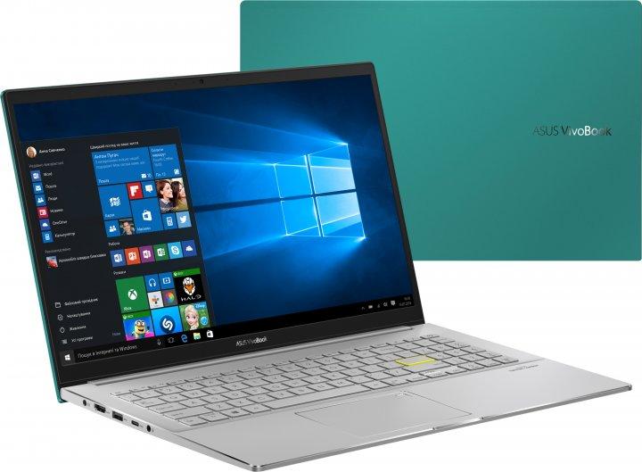 Ноутбук Asus VivoBook S S533EQ-BQ004T (90NB0SE1-M01130) Gaia Green - зображення 1