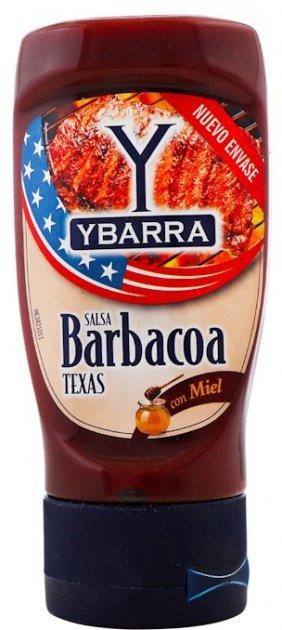 Соус Ybarra Барбекю с медом 250 мл (8410086394146) - изображение 1