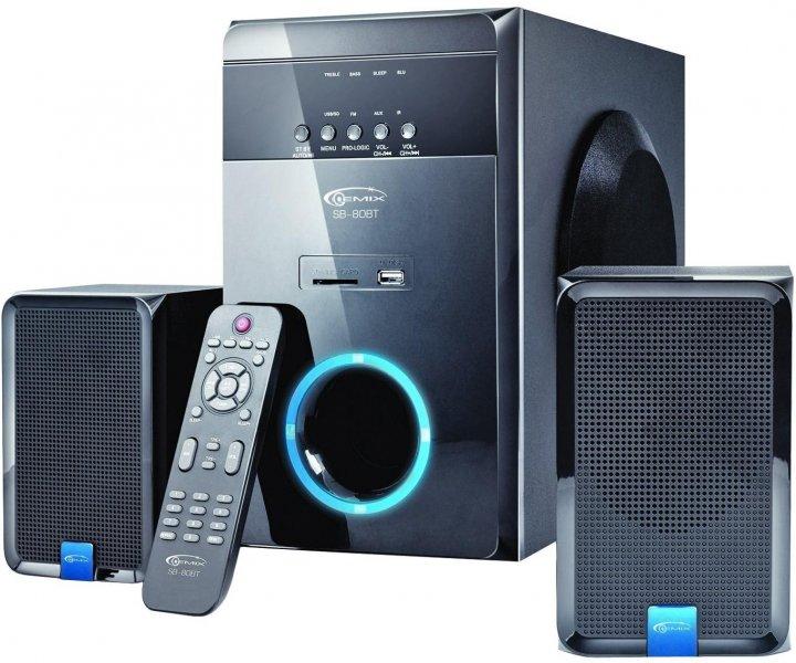 Акустическая система Gemix SB-80BT Bluetooth Black - изображение 1