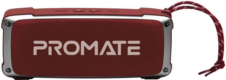 Акустическая система Promate OutBeat 6 Вт Red (outbeat.red) - изображение 1